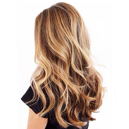 Blonde Hair Color Caramel