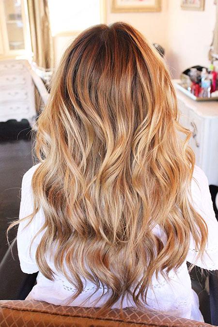 Blonde Hair Balayage Caramel