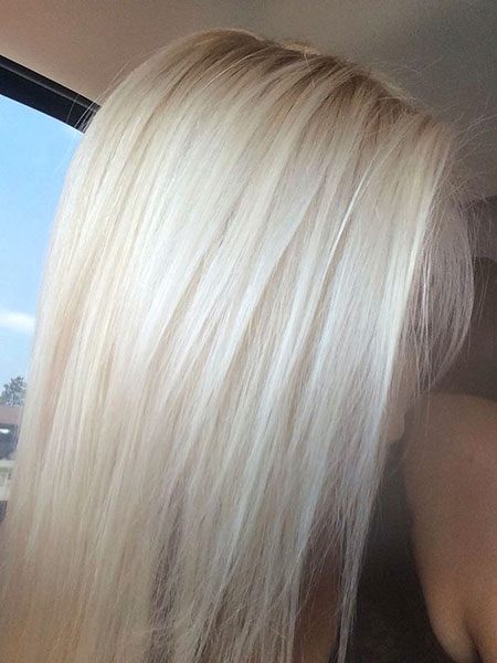 Blonde Hair Color Platinum