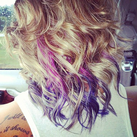 Hair Color Purple Dye