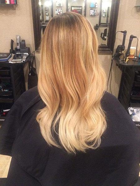 Blonde Color Hair Honey