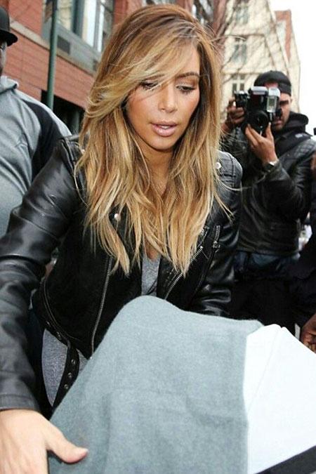 Hair Kim Kardashian Color