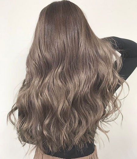 Hair Ash Brown Color