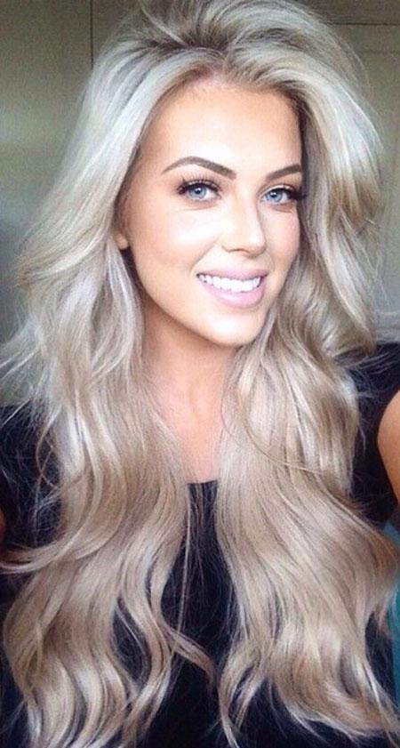 Blonde Hair Ice Love