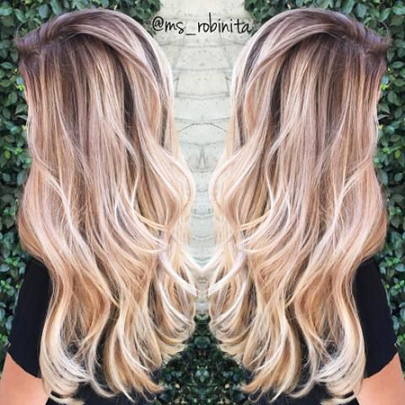 Highlights and Balayage, Blonde Hair Color Highlights