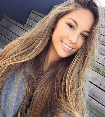 Dark Blonde Straight Hair, Hair Makeup Blonde Long