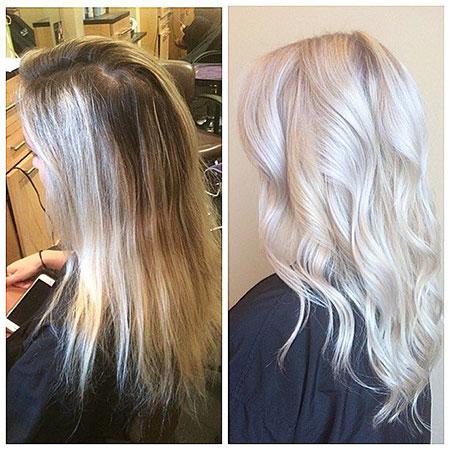 Ice Blonde, Blonde Hair Color Hairtyles