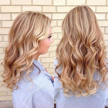 Blonde Hair Balayage Highlights
