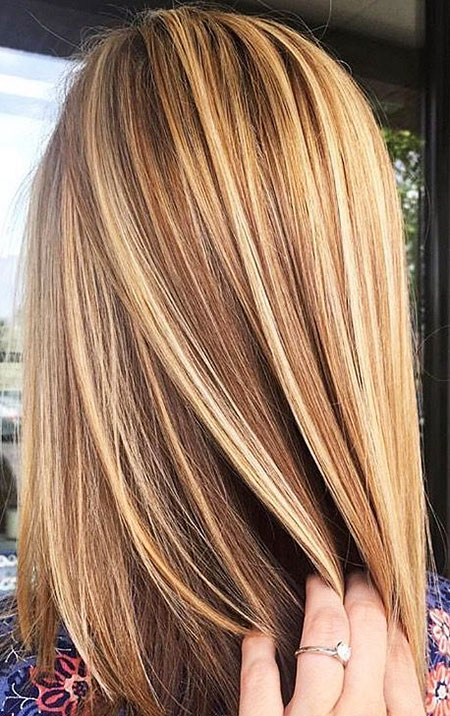 Blonde Hair Highlights Brown