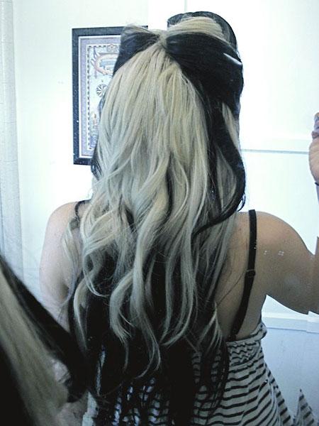 Hair Black Blonde Hairtyles
