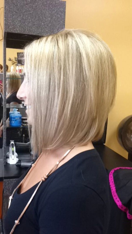 Blonde Bob Medium Length