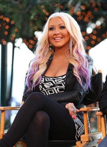 Hair Purple Blonde Blondes