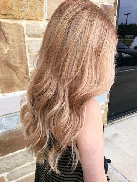 Blonde Hair Golden Color