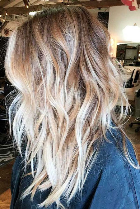 Blonde Hair Highlights Ombre