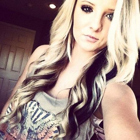Blonde Hair Black Color