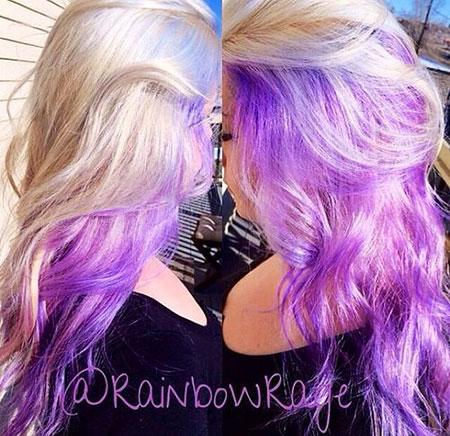 Hair Color Purple Pastel