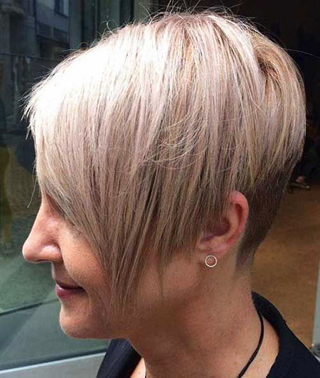 Pixie Blonde Nape All