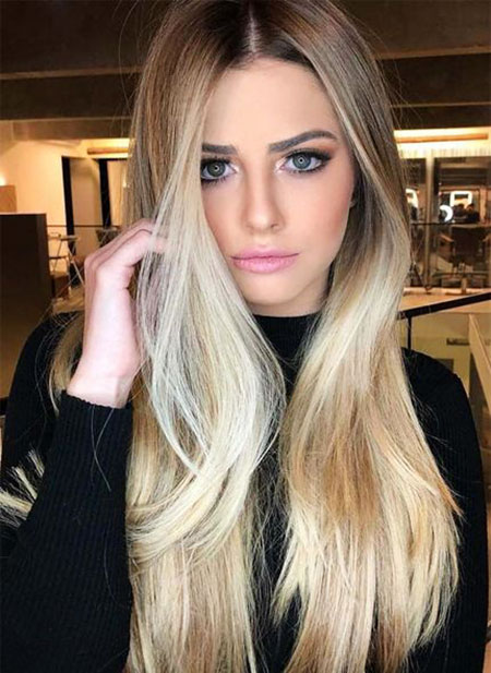 Hair Blonde Color Makeup