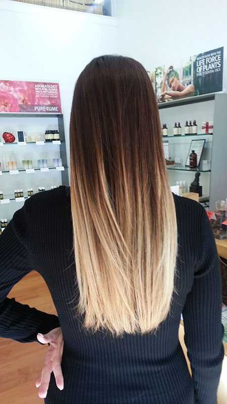 Ombre Hair Balayage Blonde