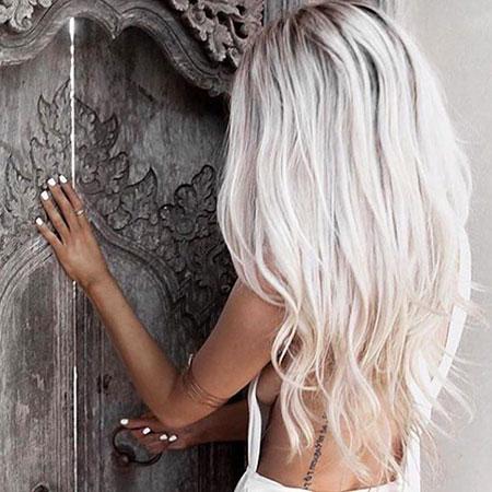 Blonde Hair White Hairtyles