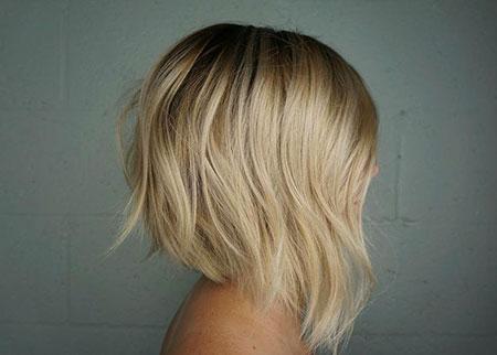 Angled Cut Bob, Bob Blonde Angled Hairtyles