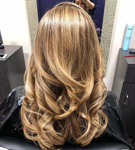 Caramel Highlights, Blonde Hair Caramel Highlights