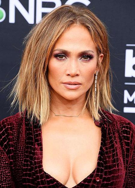 Jennifer Lopez Hair Color, Hair Bob Honey Summer