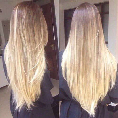 Dark Blonde Ombre, Ombre Hair Long Blonde