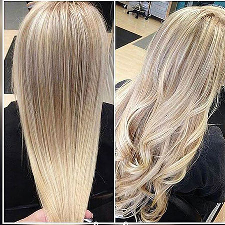 Natural Blonde Balayage, Blonde Hair Color Natural