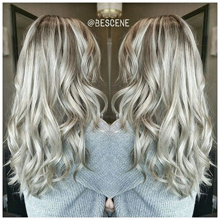 Silver Blonde, Blonde Hair Ash Color