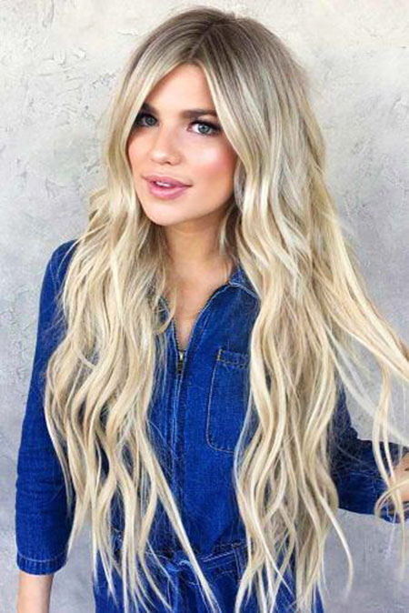 28 Long Blonde Hair And Blue Eyes Blonde Hairstyles 2020