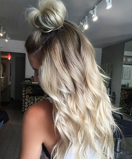 Platinum Blonde Hair, Hair Blonde Balayage Color