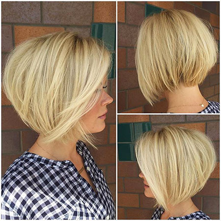 Blonde and Dark Roots, Bob Hairtyles Bobs Short