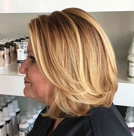 Caramel Blonde Bob, Blonde Caramel Layered Hairtyles