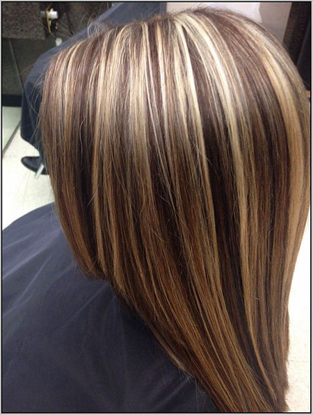 Straight Brown Hair with Highlights, Highlights Blonde Hair Brown