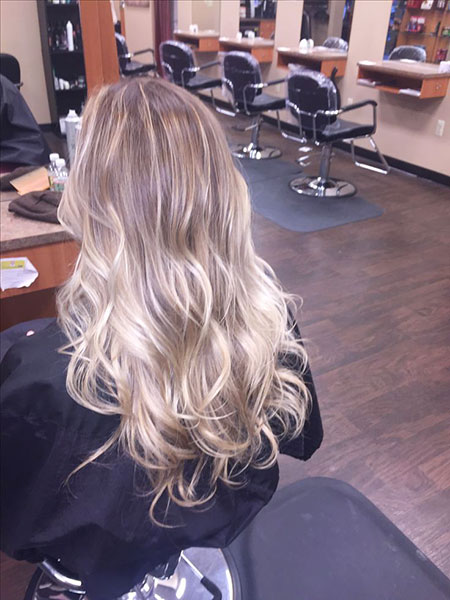Vanilla Ice Blonde Ombre, Blonde Balayage Hair Ombre