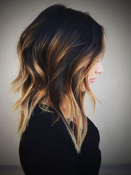 Hair Balayage Ombre Black