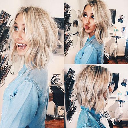 Blonde Hair Bobs Hairtyles