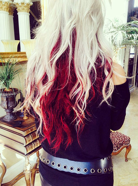 Hair Red Color Blonde