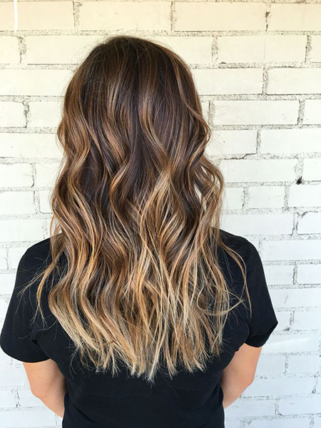 Balayage Hair Brown Bronde