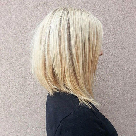 Bob Blonde Layered Bronde