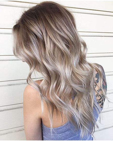 Blonde Balayage Color Hair