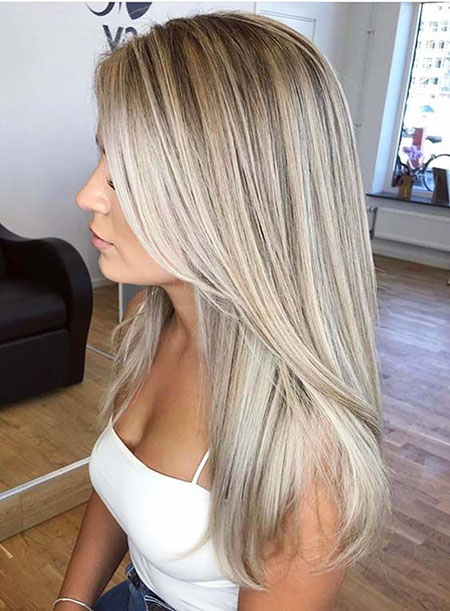 Blonde Hair Balayage Colors