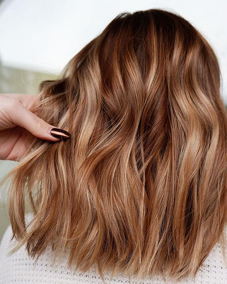 Balayage Hair Color Honey