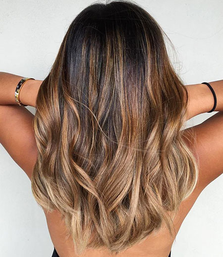 Balayage Blonde Ash Color