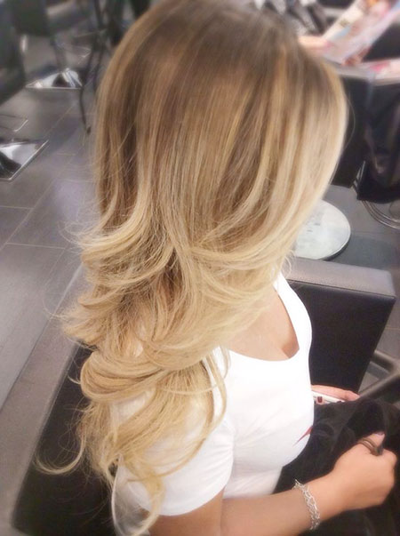 Blonde Hair Ombre Color