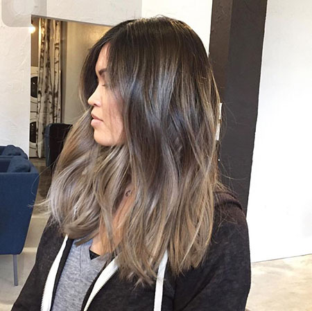 Balayage Blonde Hair Ash