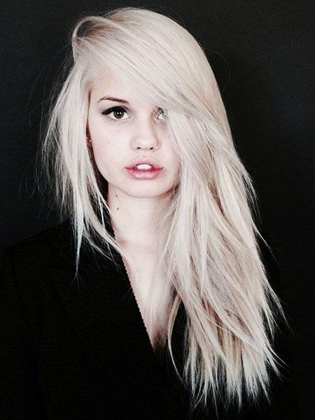 Blonde Platinum Ryan Hair