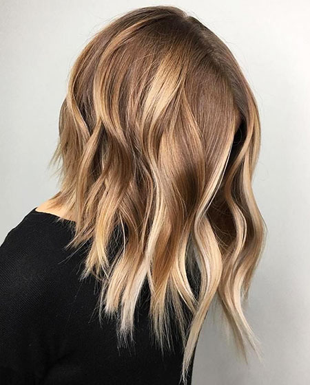 Blonde Hair Hairtyles Balayage