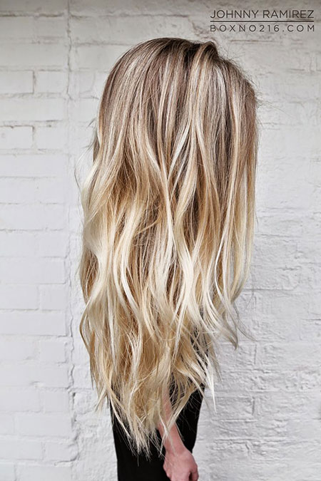 Color Bronde Length Blonde